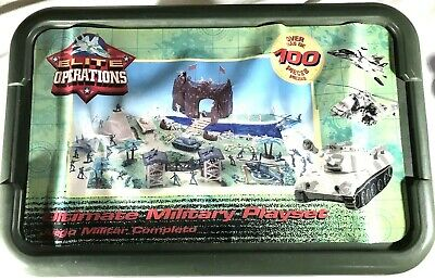 $43.96 • Buy ELITE OPERATIONS Ultimate Military Playset Action Figures In BOX 100+ PIECES