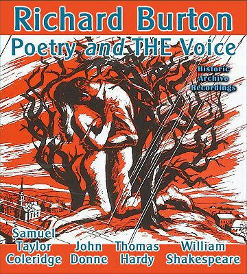 £6.49 • Buy Richard Burton Poetry And THE Voice: A Collection CD Shakespeare Hardy Coleridge