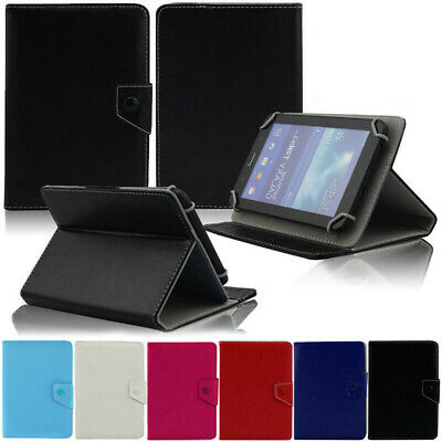 AU17.89 • Buy Universal Leather Tablet Case Smart Protective Cover Stand For 7  Amazon Lenovo