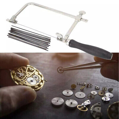 £3.16 • Buy Adjustable Jewellers Piercing Saw Frame Jewellery Making Tool With Saw Blade