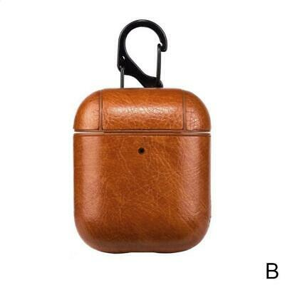 $ CDN6.52 • Buy Leather Charging Case For AirPods Protective AirPod Earphones Cover Fast T9N3