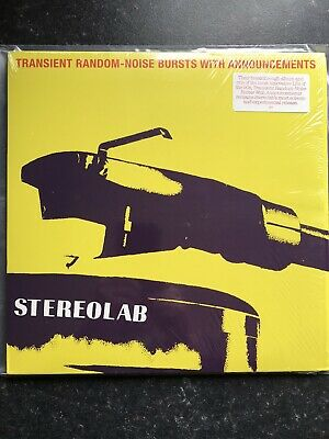 £59 • Buy Stereolab - Transient Random - Noise Bursts With Announcements - 2 X LP - 1972