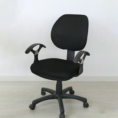 AU15.19 • Buy Office Chair Cover Seat Cover Case Home Computer Desk Stretch Washable Removable