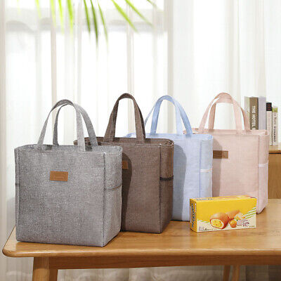 AU15.05 • Buy Outdoor Portable Lunch Bag Insulated Lunch Box Thermal Insulated Food Container
