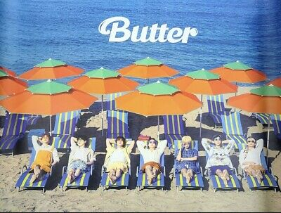 $6 • Buy BTS Butter Peaches Version Official Folded Poster