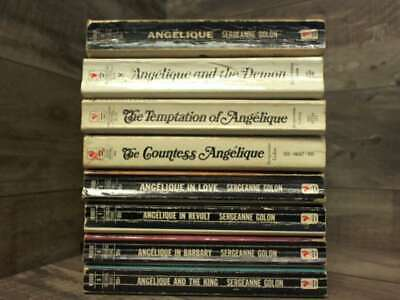 £188.37 • Buy 5 Book Set By Sergeanne Golon: Angelique In Barbary; The Countess Angelique; Ang