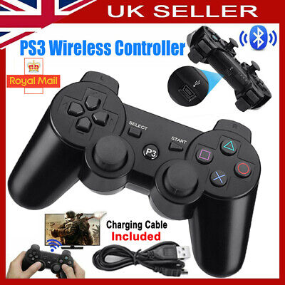 £17.45 • Buy PS3 Controller PlayStation3 Wireless SixAxis GamePad With Data Cable NEW