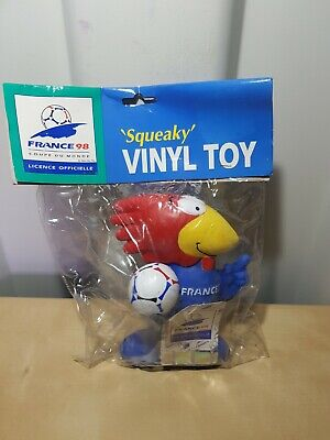 £23.39 • Buy France 1998 World Cup  - FOOTIX FRANCE 98 MASCOT SQUEAKY VINYL TOY RARE!! NEW!!!