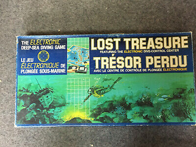 £24.99 • Buy Parker Games LOST TREASURE Electronic Deep Sea Diving Game Complete In GWO