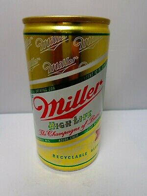 $3 • Buy Miller High Life  The Champagne Of Beers  Aluminum Pull Tab Beer Can #94-19