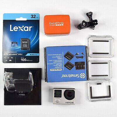 AU209 • Buy GoPro HERO4  - 32GB SD Card - Dual Charger