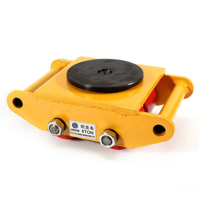 $62.01 • Buy 6T 360° Heavy Duty Machine Dolly Skate Machinery Roller Mover Cargo Trolley US