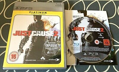 £3.95 • Buy JUST CAUSE 2  FOR SONY PLAYSTATION 3 (PS3) By SQUARE ENIX VGC QUICK DESPATCH
