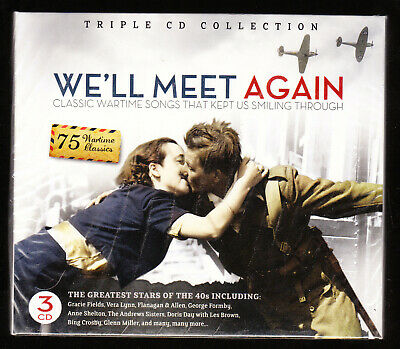 £9.90 • Buy We'll Meet Again - Clasic Wartime Songs - 3 Cd Boxset - 75 Tracks - New & Sealed