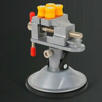 £12.65 • Buy Alloy Engineers Vice Vise Swivel Base Workshop Clamp Jaw Work Bench Table Useful