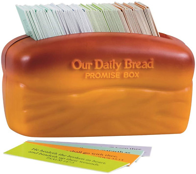 £11.90 • Buy DaySpring Our Our Daily Bread Promise Box With Scripture Cards, 4 1/4  X 2 1/4