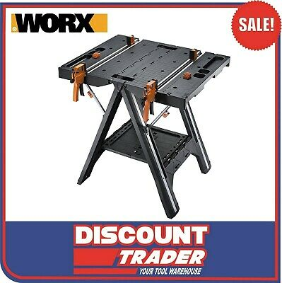 AU199 • Buy WORX Pegasus Multifunction Work Table & Saw Horse Quick Clamps & Pegs - WX051