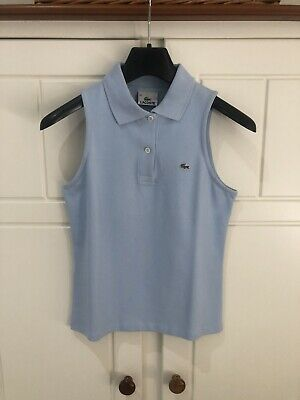 £15 • Buy Womens Lacoste Sleevless Polo, Size 38, Never Worn