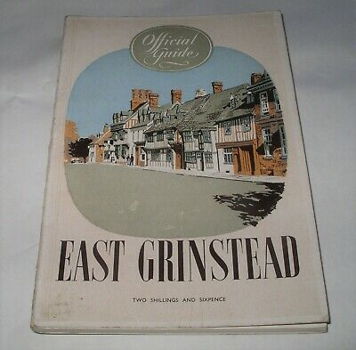 £8.99 • Buy 1958 EAST GRINSTEAD Sussex OFFICIAL GUIDE BOOKLET