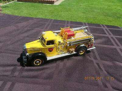 $12.50 • Buy RARE Yellow First Gear 1:34 Mack L Series Pumper Wildfire Prevention Engine No 5