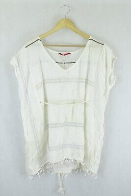 AU27.50 • Buy Tigerlilly White Top S By Reluv Clothing
