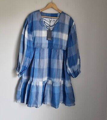 AU79.99 • Buy Country Road Check Lace Front Dress Size 10, 12, S, M,  BNWT RRP $159