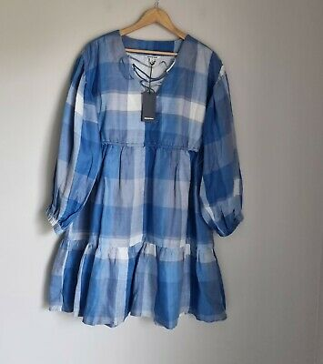 AU79.99 • Buy Country Road Check Lace Front Dress Size 10, 14, S, L, BNWT RRP $159