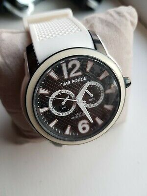 £41 • Buy Watch TIME FORCE TF4182M18 White Man RRP Still New