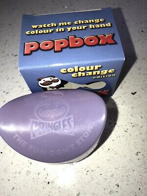 £10.95 • Buy Pringles Pop Box Colour Change Blue To Lilac New In Box.Quite Rare Lunch Box