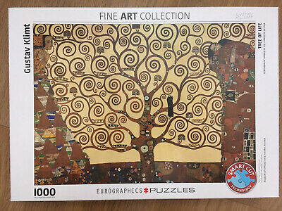 $ CDN11.25 • Buy Gustav Klimt The Tree Of Life Fine Art Jigsaw Puzzle 1000 Pieces Completed