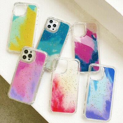 AU12.99 • Buy For IPhone 12 11 Pro Max XR X 8 7 6 SE Plus Pattern Case Shockproof Clear Cover