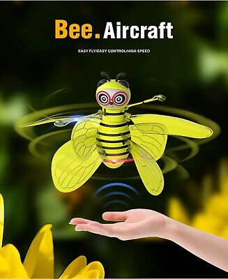 AU59.99 • Buy Bee Aircraft Drone Smart Bee Shape UFO Toys RC Remote Control For Kids Flying