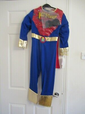 £8.99 • Buy Super Hero Boys Dress Up Costume Age 7-8 Years Illusions Carnival