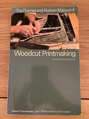 £9.95 • Buy Woodcut Printmaking And Related Techniques (Thames And Hudson Manuals), Chamberl
