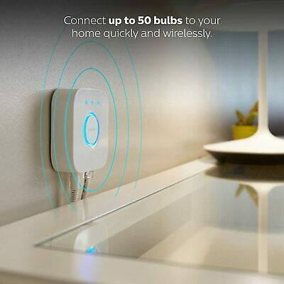 AU86.80 • Buy Philips Hue With Color Hue For Smart LED Lights With Easy To Use Lightbulb App
