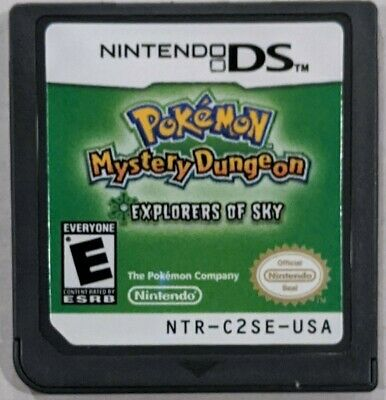 $89.95 • Buy Pokemon Mystery Dungeon: Explorers Of Sky (DS, 2009) Cartridge Only - Authentic!