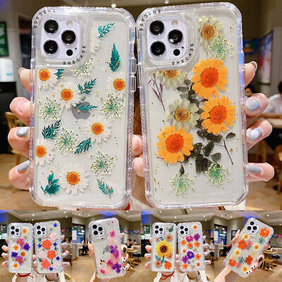 AU12.99 • Buy For IPhone 13 12 11 Pro Max XR X 8 7 6 Plus Flower Pattern Case Shockproof Cover
