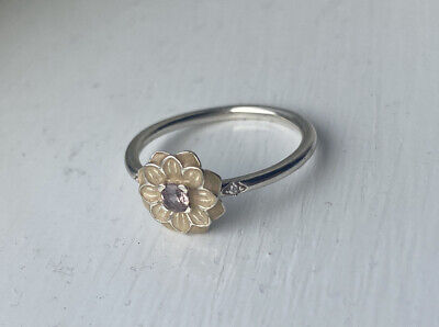 AU40 • Buy Genuine Pandora Blooming Dahlia Ring Size 54, As New With Box