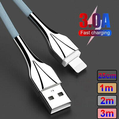 AU9.67 • Buy Fast Charging USB Data Cable Charger Cord For IPhone 7 8 6 5 11 12 X XR XS Max