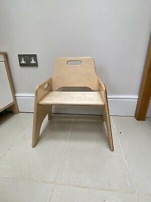 £33 • Buy Toddler Wooden Chair - TTS Brand New