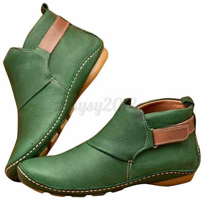 £8.98 • Buy Lady Women's Flat Boots Casual Wedge Arch Support Platform Sneakers Shoes