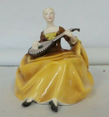 $ CDN17.29 • Buy Royal Doulton Lady Figure Playing Musical Instrument