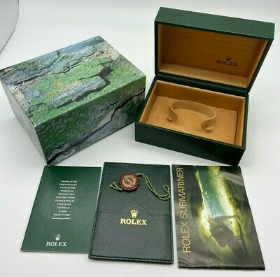 $ CDN319.75 • Buy Rolex Submariner Sea-Dweller 16600 Watch Box With Booklet/tags #420