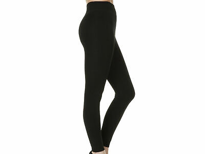 £7.95 • Buy Ladies Girls High Quality Cotton Rich BLACK Leggings In Small To Plus Sizes