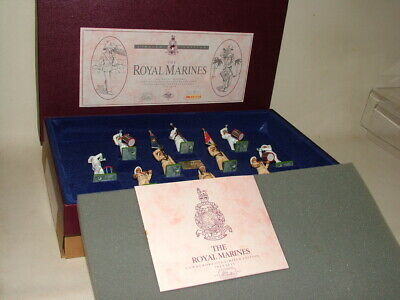 £25 • Buy BRITAINS SOLDIERS MILITARY LTD. ED. BOXED 10 PIECE SET No.5289 THE ROYAL MARINES