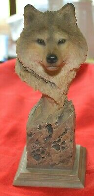 """$12.50 • Buy Mill Creek Studio 2001 """"scout"""" Wolf Sculpture 38230 -  7 Inches"""