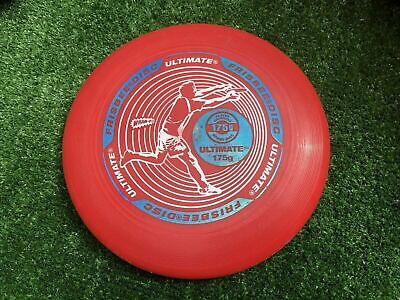 £9.42 • Buy WHAM-O Ultimate Frisbee Disc 175g   Red/White/Blue Vintage Style