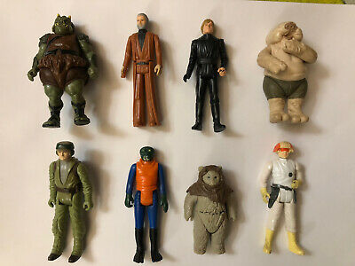 $ CDN8.50 • Buy Star Wars Vintage Lot Of 8 Figures From 1977 To 1985!!