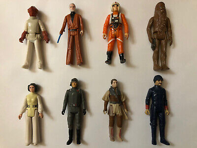 $ CDN9.50 • Buy Star Wars Vintage Lot Of 8 Figures From 1977 To 1985!!