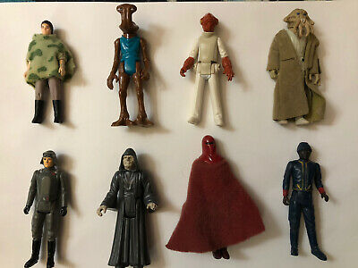 $ CDN12.50 • Buy Star Wars Vintage Lot Of 8 Figures From 1977 To 1985!!